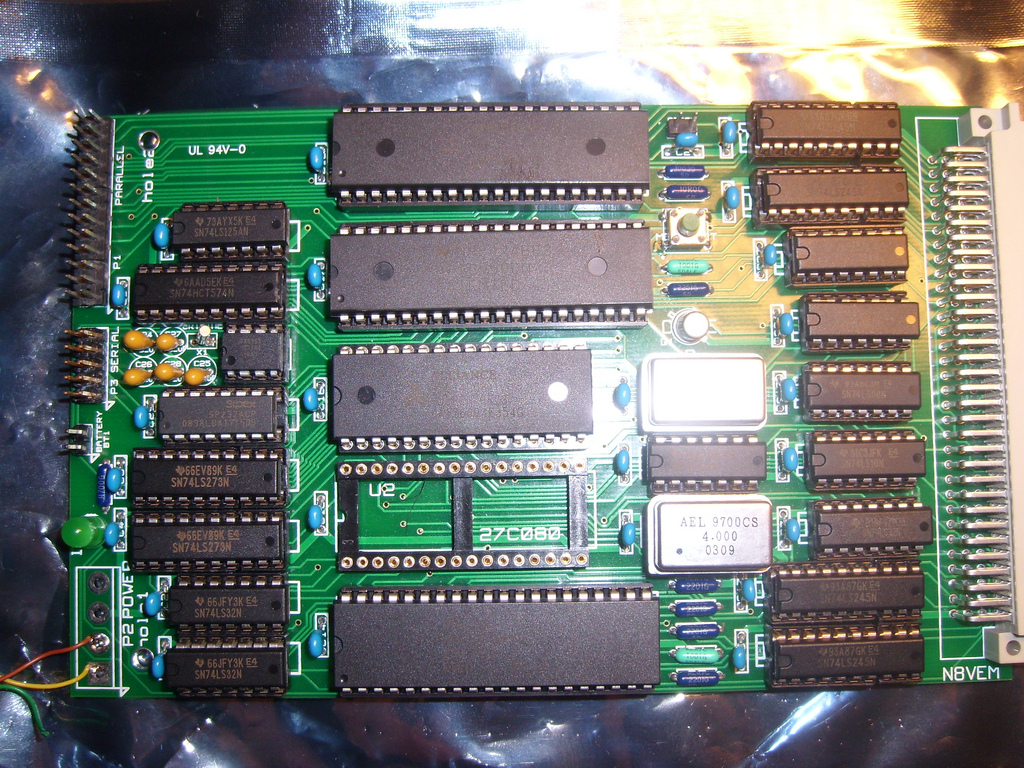 SBC Z80, with Aerospace grade(?) resistors for fun